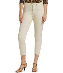 l'agence women's margot high-rise ankle skinny jeans - granite - size 30 (8-10)