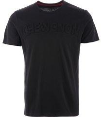 chevignon adrien logo t-shirt - noir kectc017