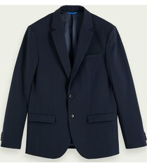 scotch & soda klassieke single-breasted blazer