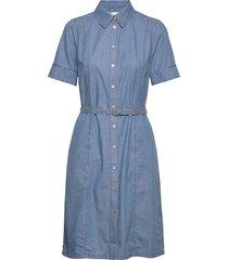 bobiiw dress korte jurk blauw inwear