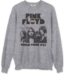 junk food pink floyd tour graphic sweatshirt