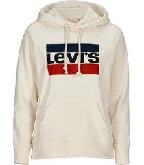 sweatshirt classic logo hoodie