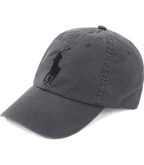 gorra infinite grey/black polo ralph lauren big pony unicolor