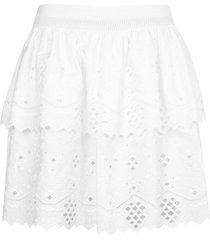 alberta ferretti cut-out detail skirt