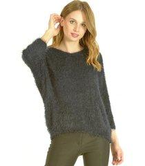 sweater c/v azul marino bou's