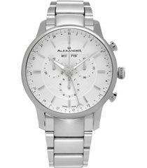 alexander watch a101b-01, stainless steel case on stainless steel bracelet