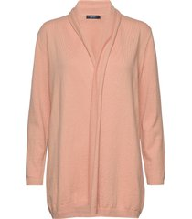 ladies knit cardigan, villis gebreide trui cardigan roze nanso