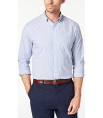club room men's pinstriped shirt, created for macy's