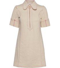 dress dresses shirt dresses creme see by chloé