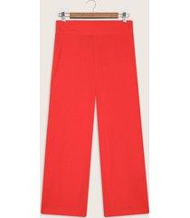 pantalón unicolor en lino bota recta-10