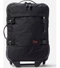 filson dryden rolling 2-wheel carry-on bag - black 200477228