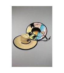 chapéu kouk authentic de palha beach girl