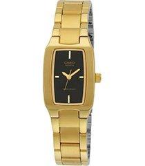 reloj casio ltp-1165n-1c de mujer-dorado
