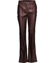 emma pants leather leggings/broek roze birgitte herskind