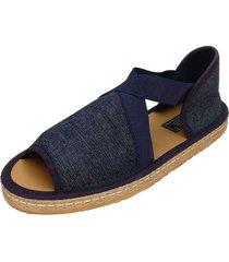 sandalia azul pavien