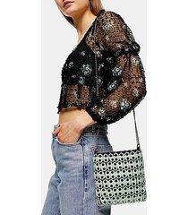 babe mint disk shoulder bag - mint