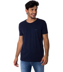 camiseta osmoze gola careca z 110112805 marinho