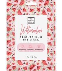 the beauty crop watermelon eye mask pouch