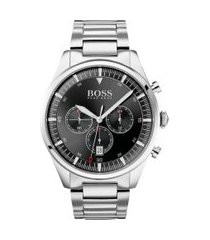 relógio hugo boss masculino aço - 1513712