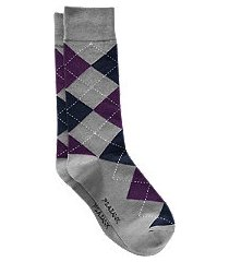 jos. a. bank argyle socks, one-pair - king size