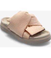 knot lino shoes summer shoes flat sandals rosa inuikii