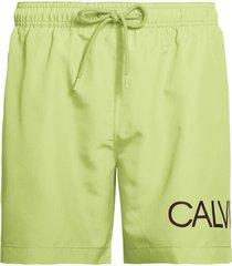 calvin klein heren zwembroek drawstring - groen-s