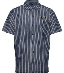 coleman kortärmad skjorta blå vans