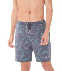 bermuda jogger hombre gris maui and sons