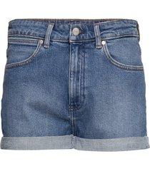 boyfriend short shorts denim shorts blå wrangler