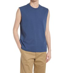 club monaco muscle tank, size x-large in sargasso sea multi at nordstrom
