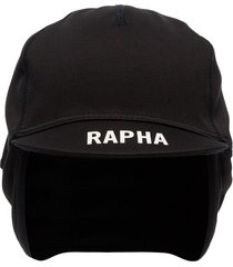 rapha pro team logo-print winter hat - black