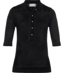 polo in maglia (nero) - bpc selection