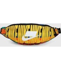 canguro negro-multicolor nike hip pack