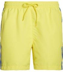 calvin klein heren zwembroek - geel/taped-s