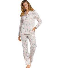 dames pyjama pastunette de luxe satijn 25211-301-6-48