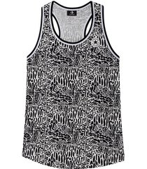 chuck taylor graphic print long tanktop