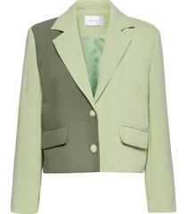veda blazer blazers casual blazers groen hosbjerg