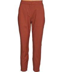 7/8 pants - stella pantalon met rechte pijpen rood coster copenhagen