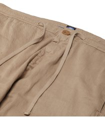 pantaloni chino con coulisse