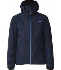 tenson ski jas men lucky dark blue-l