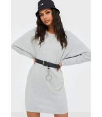 noisy may nmcity l/s new bat short dress loose fit dresses