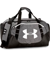 bolso gris under armour mediano undeniable hombre