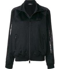 dsquared2 sequin stripe sweatshirt - 964