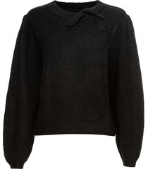 maglione con fiocco (nero) - bodyflirt