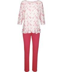 pyjama simone ecru/koraal