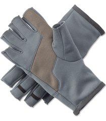 fingerless fleece gloves, x large