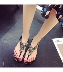 chanclas de verano sandalias planas mujeres estudiantes calzado flexible