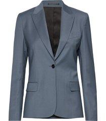 sasha cool wool blazer blazer colbert blauw filippa k