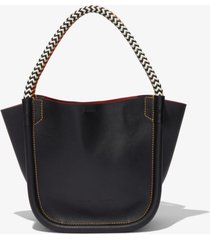 proenza schouler lux rope handle xs tote black one size