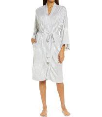 women's nordstrom moonlight robe, size small - grey
